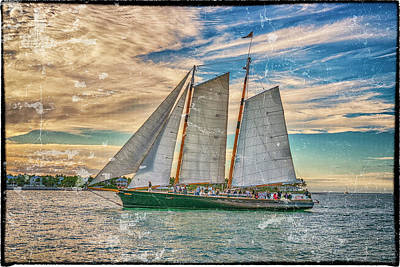 Photograph - Sailboat Keywest Florida Dsc01624_16 by Greg Kluempers