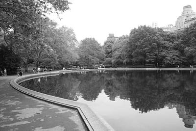 Photograph - Sailboat Lake Central Park by Christopher Kirby