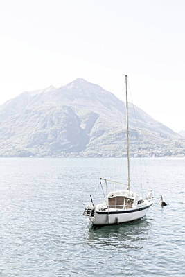 Photograph - Sailboat, Lake Como by Brooke T Ryan