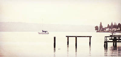 Photograph - Sailboat Leaving The Pier by Dan Sproul
