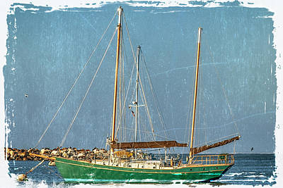 Photograph - Sailboat Monterey Ca_img_1732 by Greg Kluempers