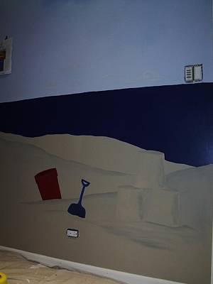 Painting - Sailboat Mural 4 by Anna Villarreal Garbis