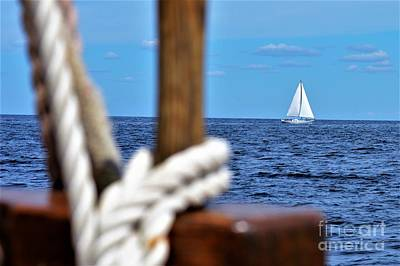 Photograph - Sailboat Neighbor by Brigitte Emme