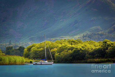 Photograph - Sailboat On Derwentwater by Brian Jannsen
