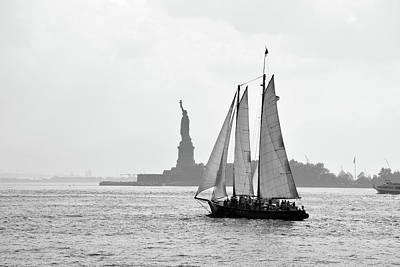Photograph - Sailing On The Hudson  by Jenny Regan