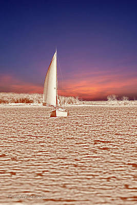 Photograph - Sailboat Time Travel by Erich Grant
