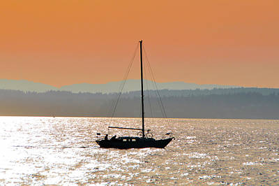 Photograph - Sailboat With Bike by Brian O'Kelly