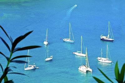 Photograph - Sailboats In Antigua Harbor by Kirsten Giving