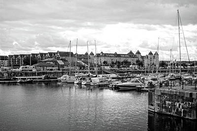 Photograph - Sailboats In Harbor by Doc Braham