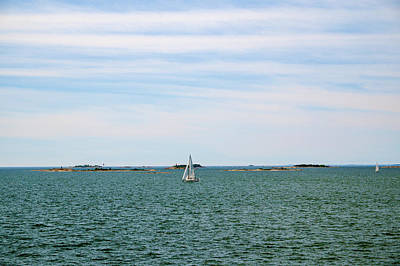 Photograph - Sailboats In Summer by Ismo Raisanen