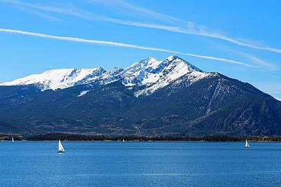 Photograph - Sailboats On Lake Dillon by Jemmy Archer