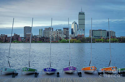 Photograph - Sailboats Ready For The Day by Mike Ste Marie