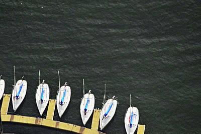 Sailboats Photograph - Sailboats by Sandy Taylor