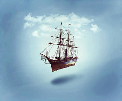 Digital Art - Sailed Away by ISAW Gallery