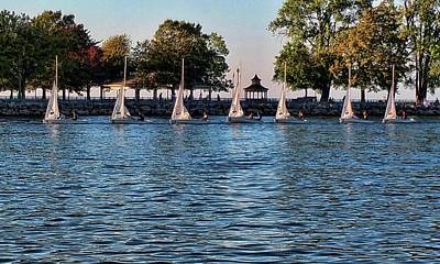 Photograph - Sailin' On The River by Gerald Salamone