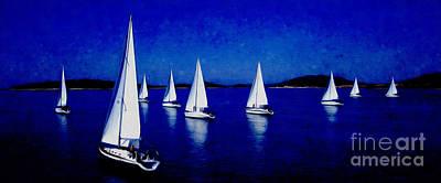 Sailing 033 Original by Gull G