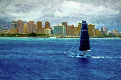 Photograph - Sailing 1 by Kristalin Davis
