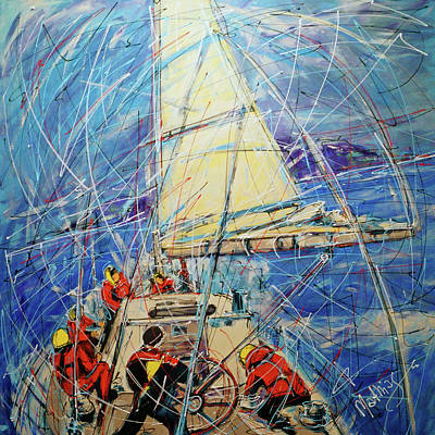 Sailing, 9 On The Beaufort Scale  Original