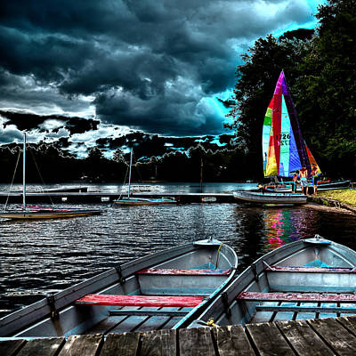 After The Storm Photograph - Sailing After The Storm by David Patterson