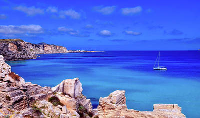 Photograph - Sailing Along The Coast Of Sicily by Pixabay