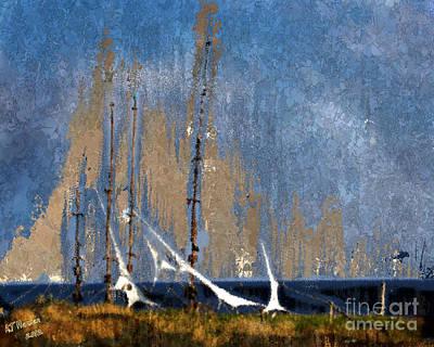 Van Goghs Ear Photograph - Sailing by Arne Hansen
