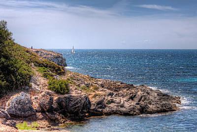 Sailing Around Majorca Print by Nico Trinkhaus