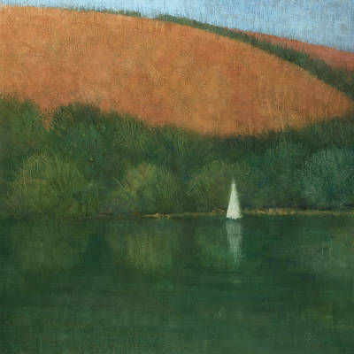Painting - Sailing At Trelissick by Steve Mitchell