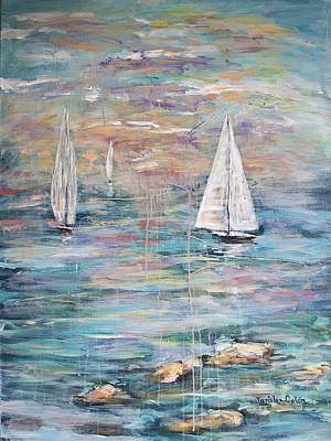 Painting - Sailing Away 1 by Janis Lee Colon