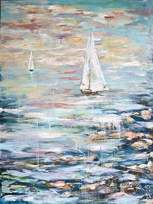 Painting - Sailing Away 2 by Janis Lee Colon