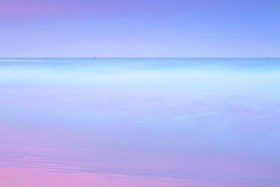 Tidal Photograph - Sailing Away by Az Jackson