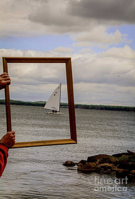 Photograph - Sailing Away by Deborah Klubertanz