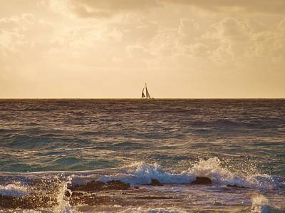 Photograph - Sailing Away by E Luiza Picciano