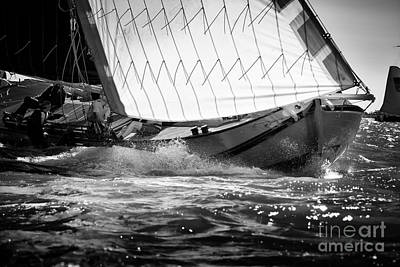 Photograph - Sailing Away by Jan Brons