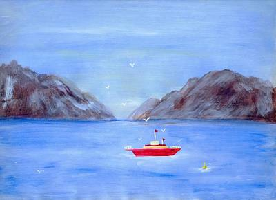 Painting - Sailing Away by Susan Turner Soulis