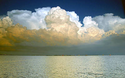 Photograph - Sailing Before The Storm by David Lee Thompson
