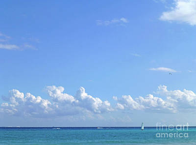 Photograph - Sailing Blue Seas by Francesca Mackenney