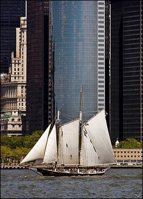 Photograph - Sailing By Downtown by Chris Lord