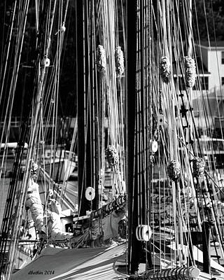 Photograph - Sailing Camden Maine by Dick Botkin