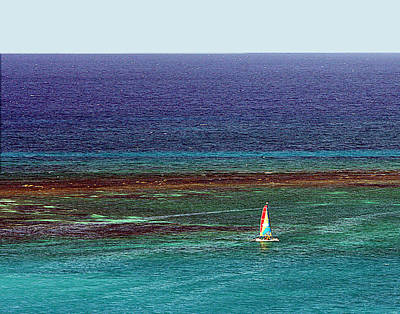 Photograph - Sailing Day by Karen Zuk Rosenblatt