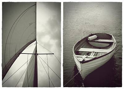 Photograph - Sailing Diptych by Patricia Strand