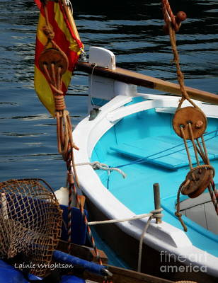 Sailing Dories 1 Art Print by Lainie Wrightson