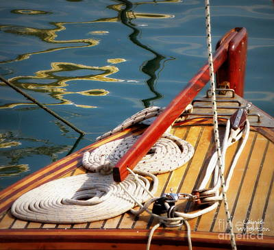 Sailing Dories 4 Art Print by Lainie Wrightson