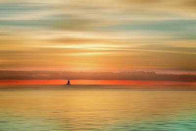 Photograph - Sailing Dreamscape by Debra and Dave Vanderlaan