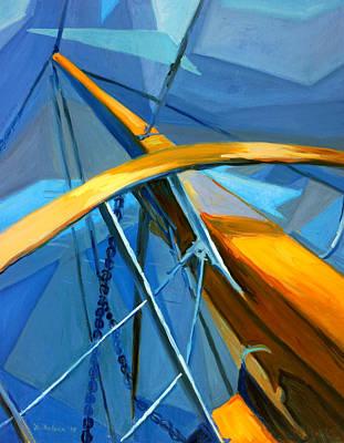 Atlantis Painting - Sailing by Dusan Balara