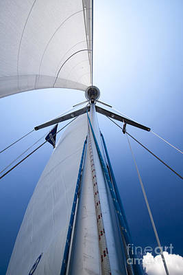 Mast Photograph - Sailing by Dustin K Ryan