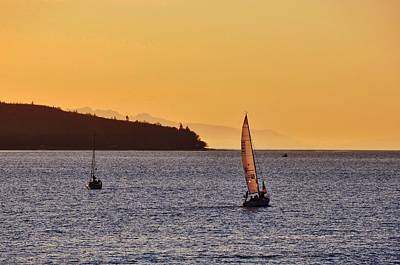 Photograph - Sailing English Bay by JAMART Photography