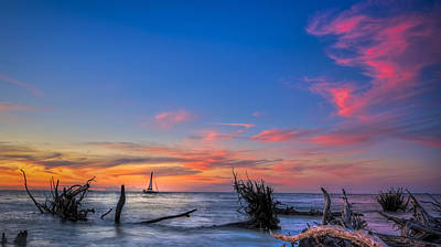Channel Photograph - Sailing Hazard by Marvin Spates