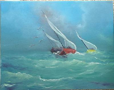 Painting - Sailing Home by Patti Lane