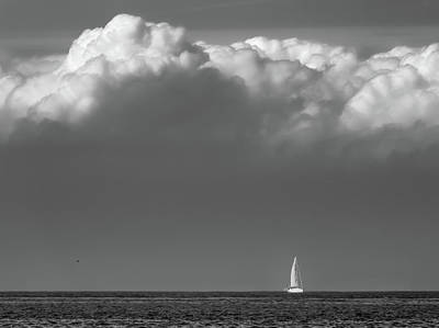 Photograph - Beneath The Clouds by Wim Lanclus
