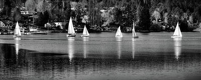 Photograph - Sailing In Gig Harbor by David Patterson